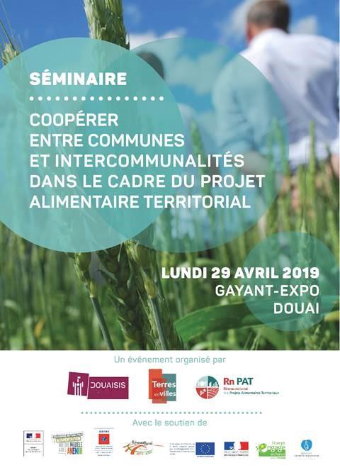 Séminaire de Douai du 29 avril 2019 « Coopérer entre communes et intercommunalités dans le cadre du PAT »